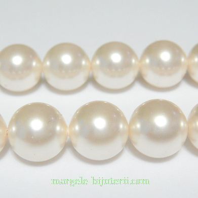 Swarovski Elements, Pearl 5810 Crystal Cream 10mm 1 buc