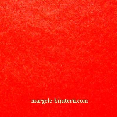 Fetru rosu, 30x20cm, grosime 1mm 1 buc