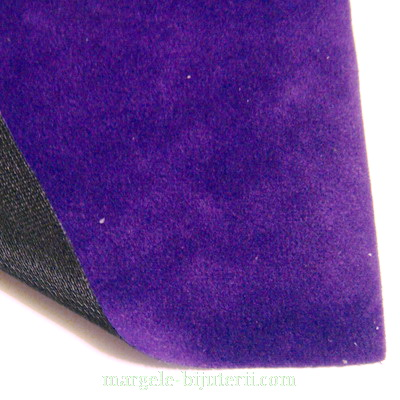 Imitatie catifea violet, 30x20cm, grosime 0.7mm 1 buc