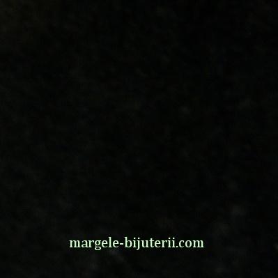 Imitatie catifea neagra, 30x20cm, grosime 0.7mm 1 buc