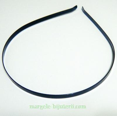 Cordeluta metalica neagra, 112x5mm 1 buc