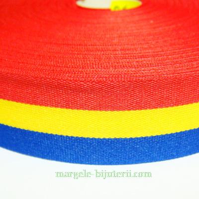 Panglica tricolora, 2.7cm 1 m