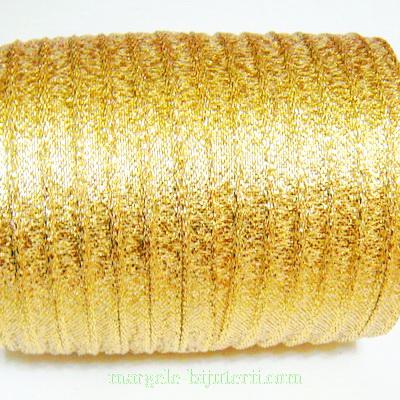Panglica lurex, aurie, 6mm 1 m