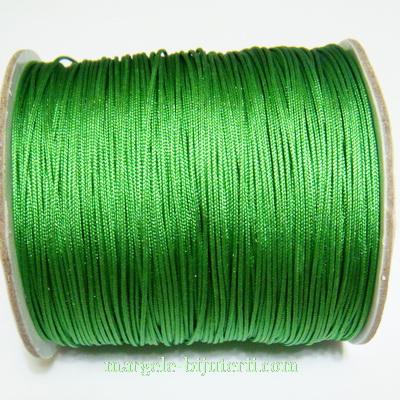 Ata matase verde, 0.8mm, cu interior nylon 1 m
