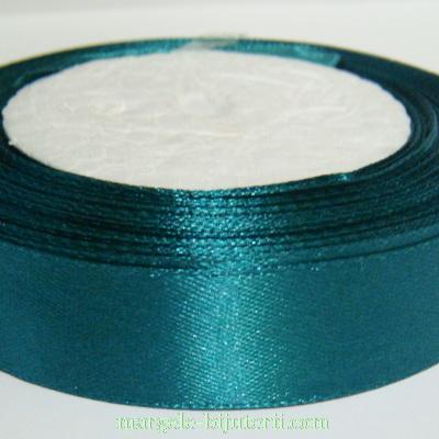 Saten verde smarald, 20 mm 1 rola 22 m