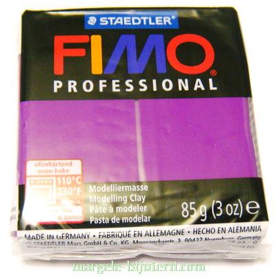 Plastelina fimo profesional 85g cod cul. 61 violet 1 buc